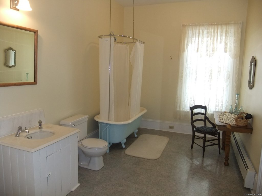 Bell Bath | Image #8/8 | Old Grand Narrows Hotel B&B