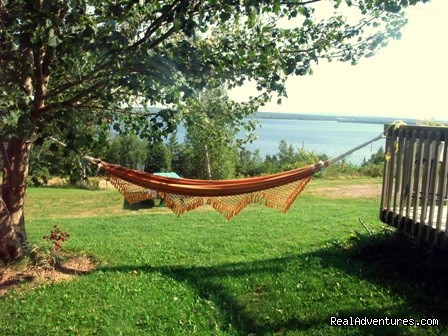 Relaxing View | Image #1/11 | Aberdeen, Nova Scotia  | Youth Hostels | Bear on the Lake Guesthouse