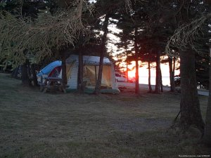 Seabreeze Campground Campgrounds & RV Parks Canso, Nova Scotia