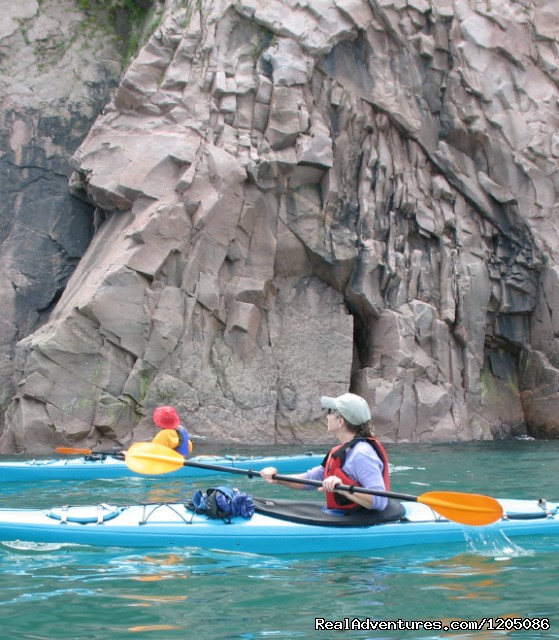 Ocean cliffside kayak tour - Adventure Packages at Sea Spray Outdoor Adventures