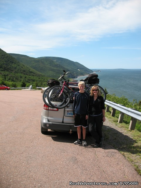 Van-shuttled bike tour on Cabot Trail - Adventure Packages at Sea Spray Outdoor Adventures
