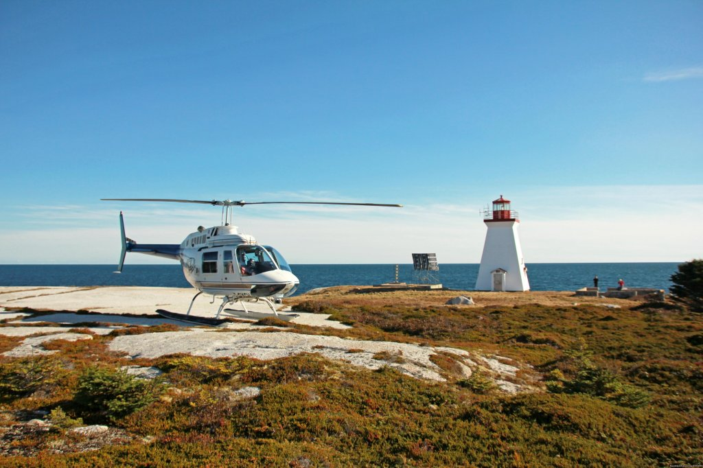 Island Landing Add On | Image #2/3 | Helicopter Sightseeing Tours - Halifax, NS