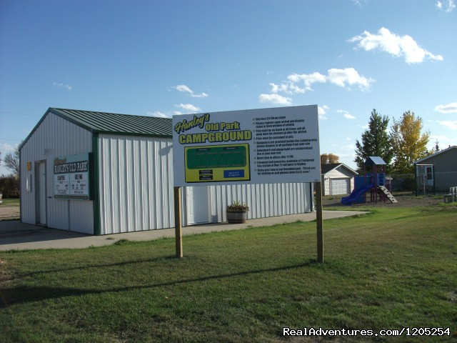 Hanley Town Tourism Center Hanley, Saskatchewan