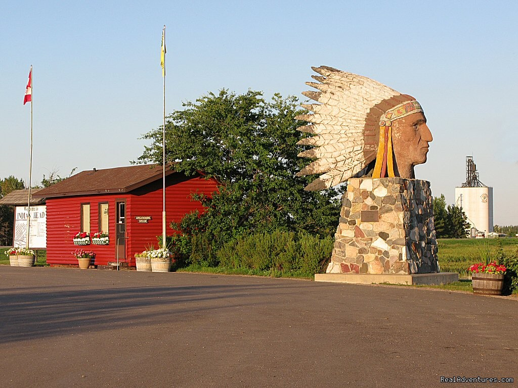 Indian Head Tourist Booth