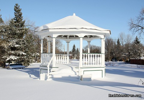 Little Mosque on the Prairie Gazebo - Winter (#19 of 23) - Indian Head Town