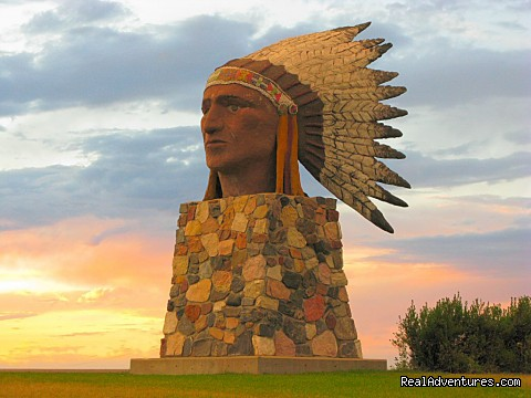Town of Indian Head Statue - Indian Head Town