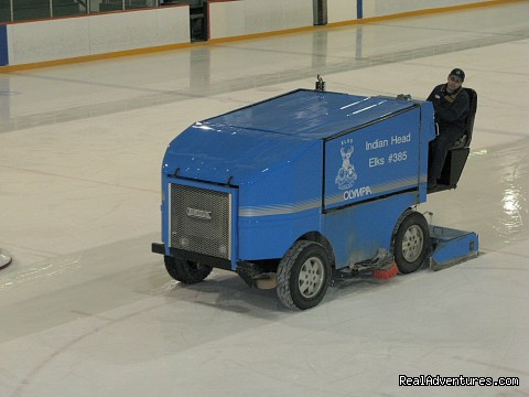 Ice Cleaning - Indian Head Town