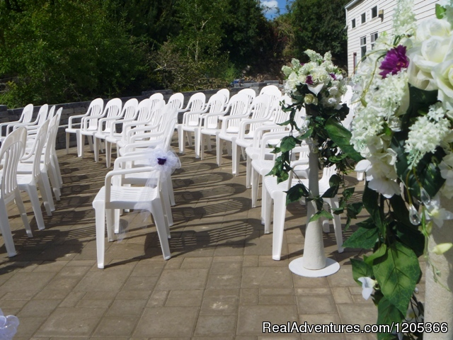 Outdoor Patio | Image #9/9 | The Dead Sea of Canada: Manitou Springs Resort