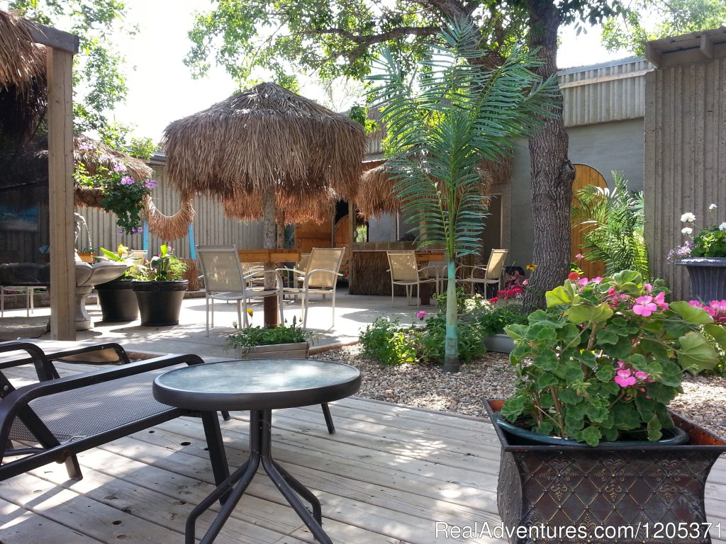 Patio for Escape Grill | Image #6/8 | Eagle Valley Park Campground & Escape Grill & Pool