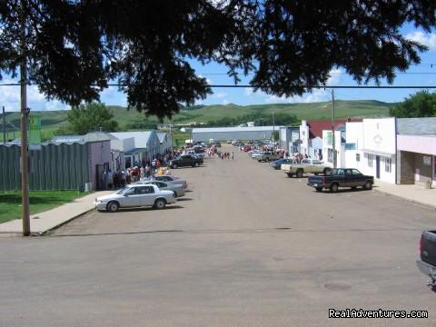 Town of Rockglen Main Street Rockglen