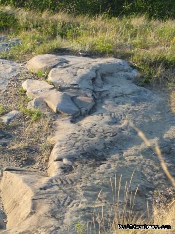 St. Victor Petroglyphs (#6 of 7) - Town of Rockglen