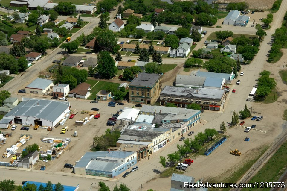 Skyview of Downtown Core - Wolseley, SK | Image #9/14 | Town of Wolseley
