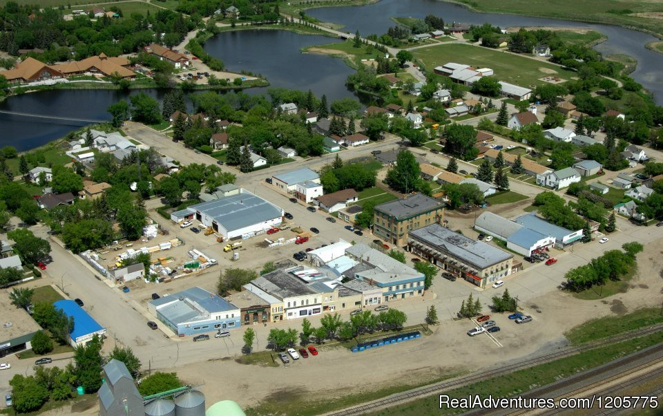 Skyview of Downtown Core - Wolseley, SK | Image #10/14 | Town of Wolseley