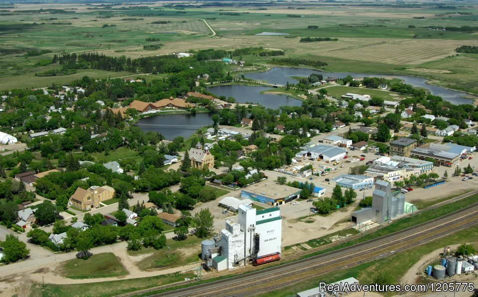 Skyview of Downtown Core - Wolseley, SK | Image #11/14 | Town of Wolseley