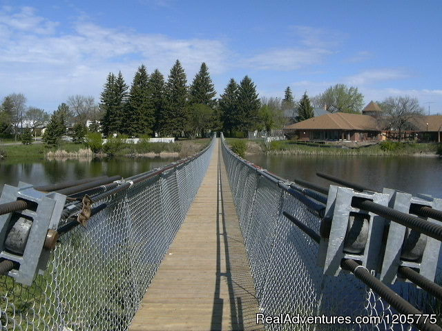 Wolseley Swinging Bridge - Town of Wolseley