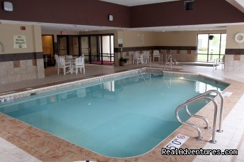 Hampton Inn Fox River Mall Area: Pool and Whirlpool