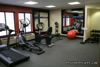 Fitness Center - Hampton Inn Fox River Mall Area