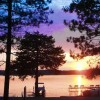 Lakefront Escape  at Lake Ripley Lodge Grand Porch Cambridge, Wisconsin Bed & Breakfasts
