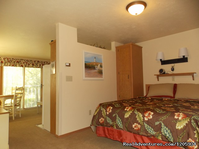 Waterbury Inn 1-Bed Studio -wood view