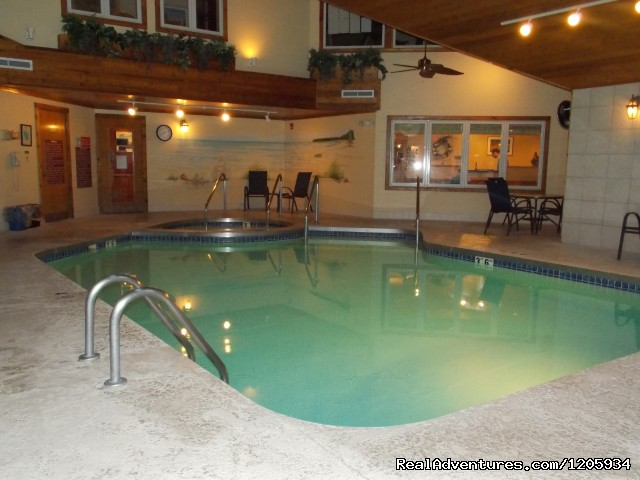 Indoor Pool - Waterbury Inn