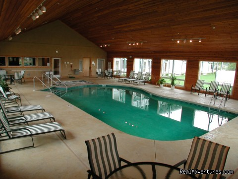 Indoor Pool - Romantic getaway in  Door County