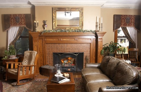 Formal Living Room - Westphal Mansion Inn