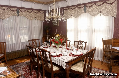Formal Dining Room - Westphal Mansion Inn