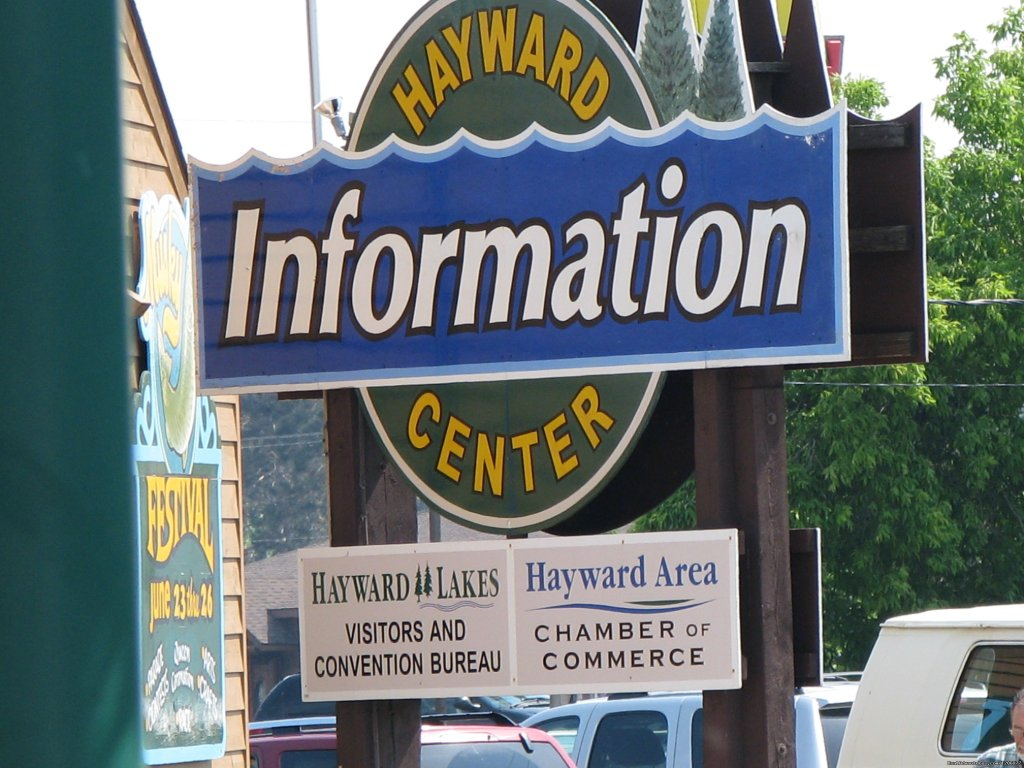 Hayward Lakes Visitors and Convention Bureau Hayward, Wisconsin  Tourism Center