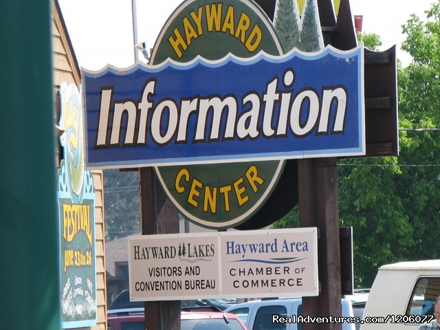 Hayward Lakes Visitors and Convention Bureau Information Center