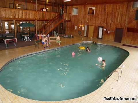 Indoor Pool and Whirlpool - Iron Ridge Inn Motel