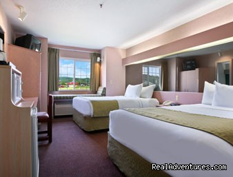 Microtel Inn: 2 Queen Size Beds