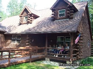 Log Cabin, front view | Image #5/12 | Sunrise Lodge