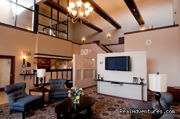 Best Western West Towne Suites Newly Renovated Lobby