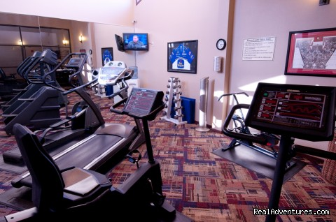 Fitness room (#4 of 5) - Best Western West Towne Suites