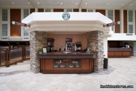 Starbucks Kiosk - Crowne Plaza
