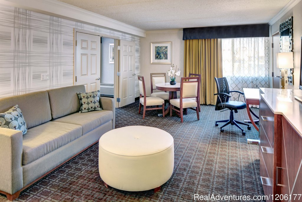 1 King 1 Bedroom Suite | Image #2/7 | Doubletree by Hilton Madison Downtown