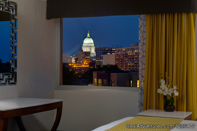 Doubletree by Hilton Madison Downtown: Deluxe King Bed Room