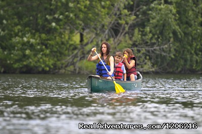 Canoeing on Woodside Lake - Woodside Ranch Resort & Conference Center