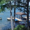 Lake Minocqua lakefront: Sill's Lakeshore B&B Resort, Minocqua, Wisconsin