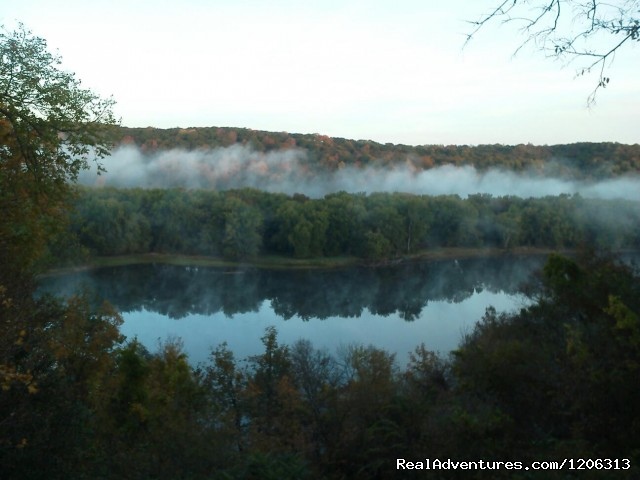 St. Croix River Inn Morning View