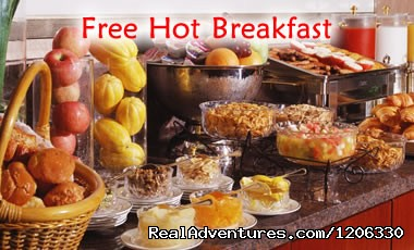 Free Hot Breakfast - Days Inn