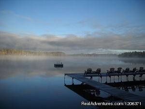 Early morning sunrise - Cedaroma Lodge