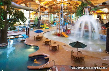 Indoor Water Park - Country Springs Hotel