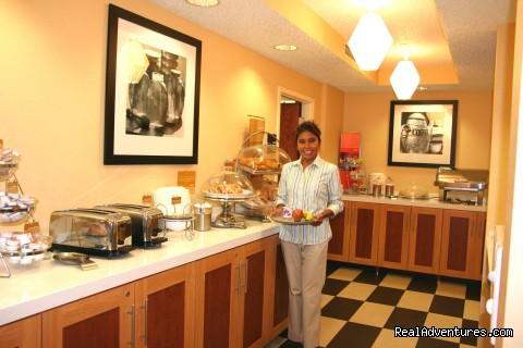 Complimentary Hot Breakfast - Every Morning!  - Hampton Inn