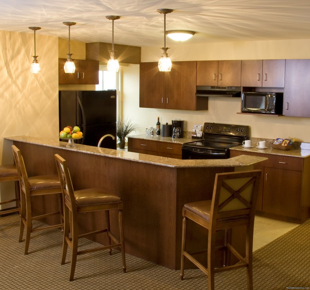 Kitchen area East Ultimate Suite | Image #5/15 | The Jefferson Street Inn - Comfortable Elegance!