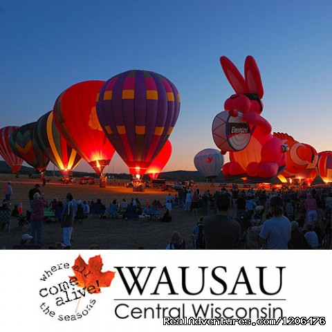 Balloon Rally and Glow (#7 of 8) - Wausau/Central Wisconsin CVB