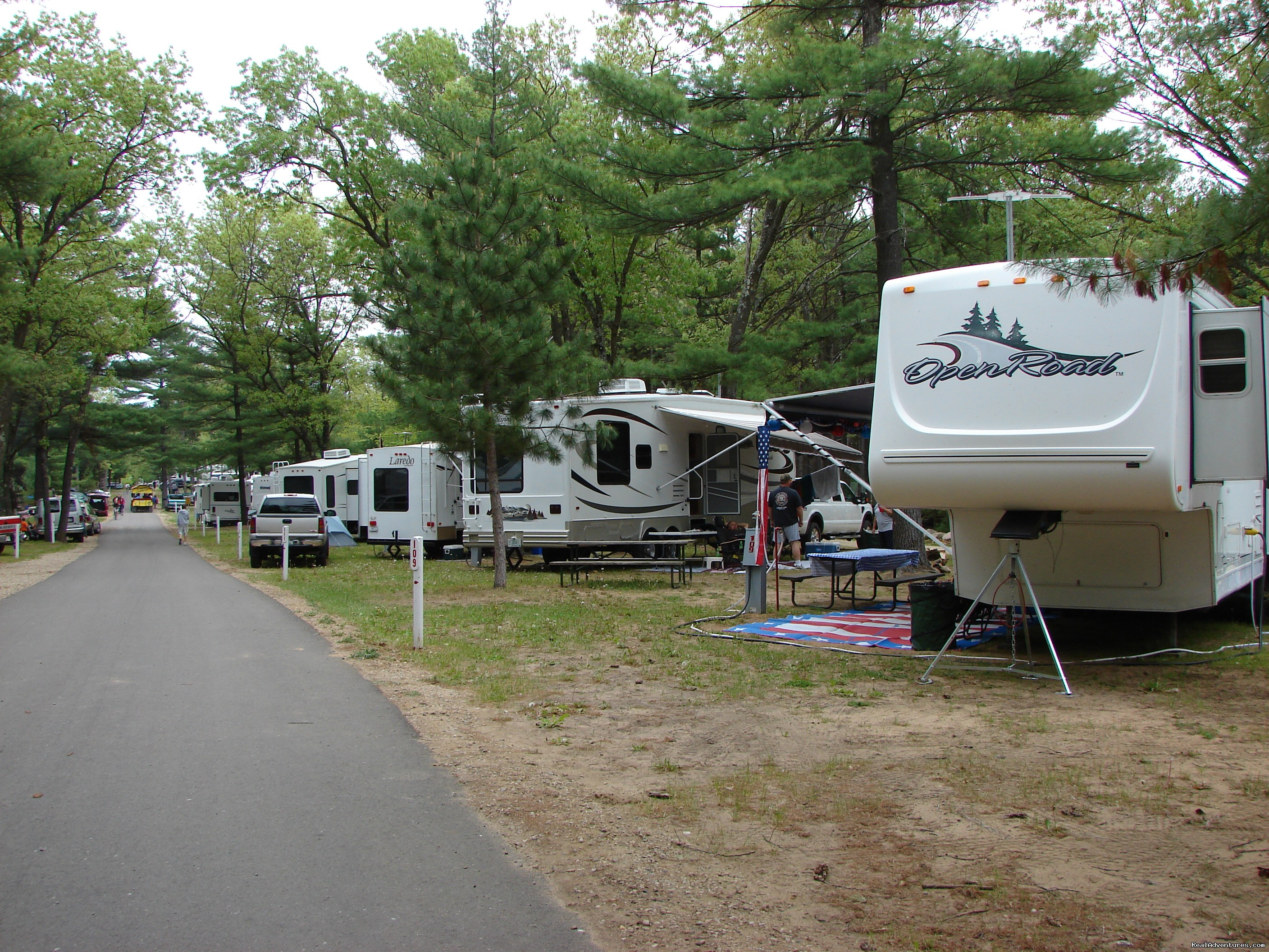 Evergreen Campsites, Wild Rose, Wisconsin Campgrounds & RV ...