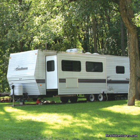 Wooded RV Sites - Al's Fox Hill RV Park & Campground