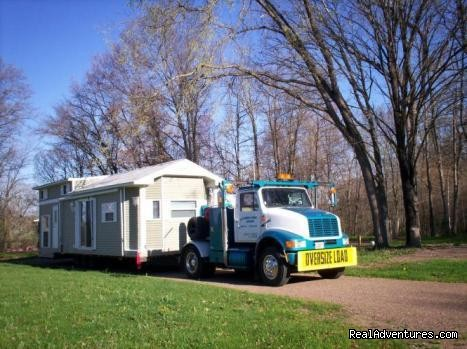 Eagle View RV Camp: Mobile Home