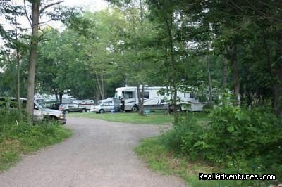 Campsites, July 4th, Entrance - Eagle View RV Camp